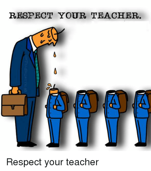 respect teacher clipart - Clipground
