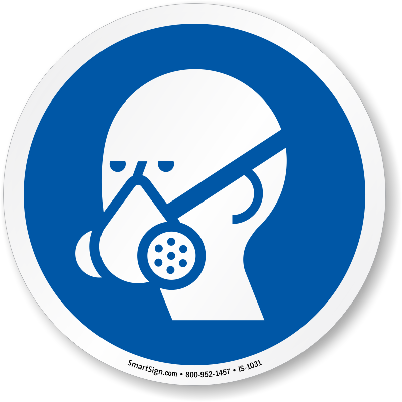 Respirator Signs.