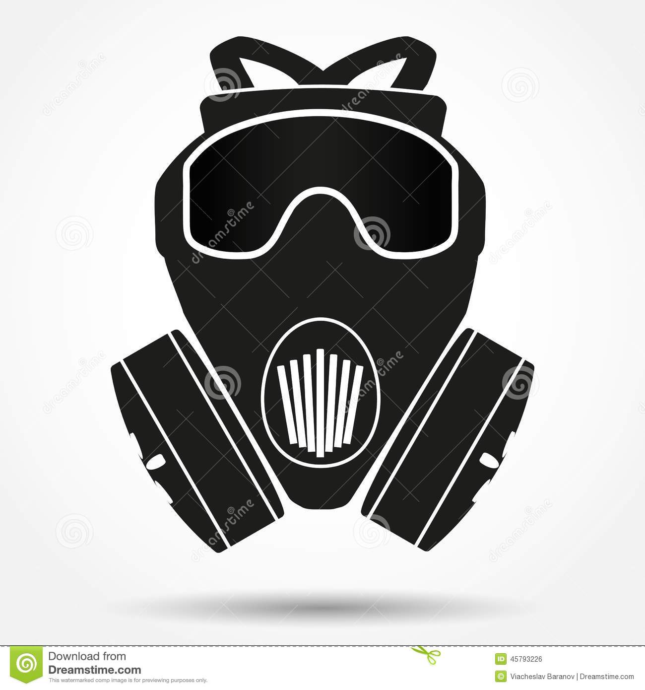 Respirator Stock Illustrations.