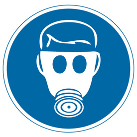 Showing post & media for Respiratory protection symbol.