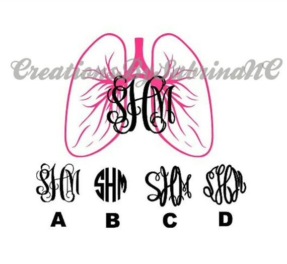 Therapist Decal With Monogram.