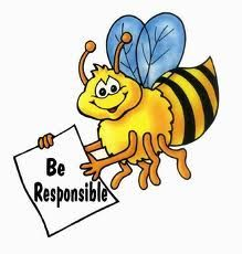 Clipart Responsibility For Kids.