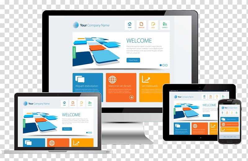 Web development Digital marketing Responsive web design, web.