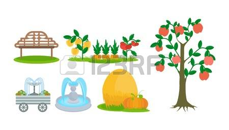 165 Garden Plot Cliparts, Stock Vector And Royalty Free Garden.
