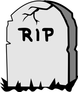 Rest in peace clipart.