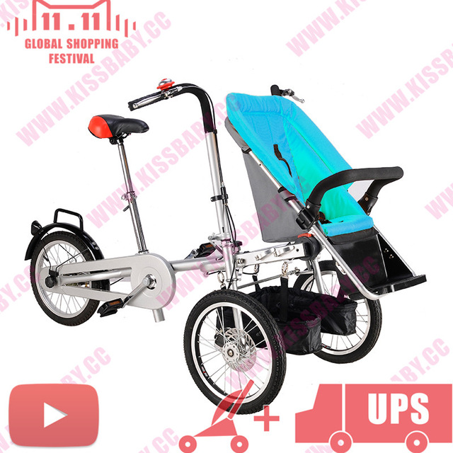 Kid Carriage Pushchair Baby Stroller with Feet rest Light Taga.