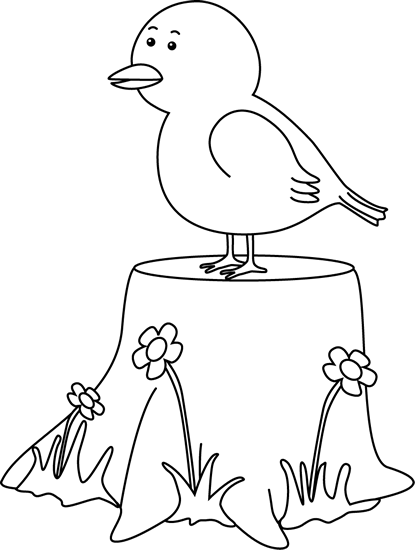 Under Tree Black And White Clipart.