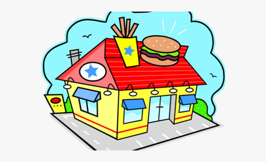 Fast Food Restaurant Clipart, Cliparts & Cartoons.