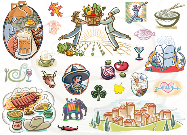 Food Graphics Clipart.