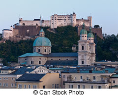 Picture of Austria, Salzburg, Festung Hohensalzburg.