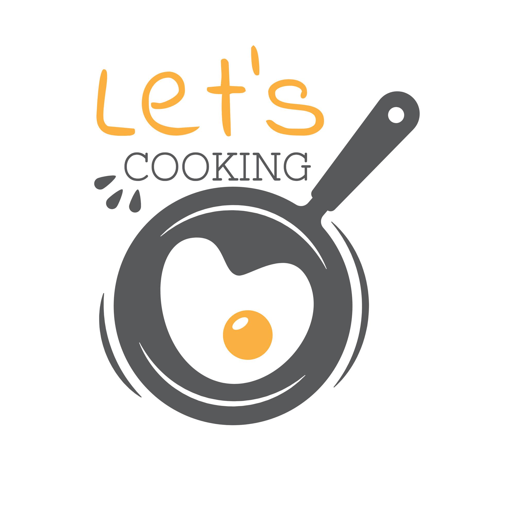 Creative Minimalist Restaurant Logo Template.