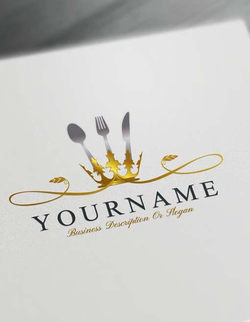 Luxurious Restaurant Logo Maker.