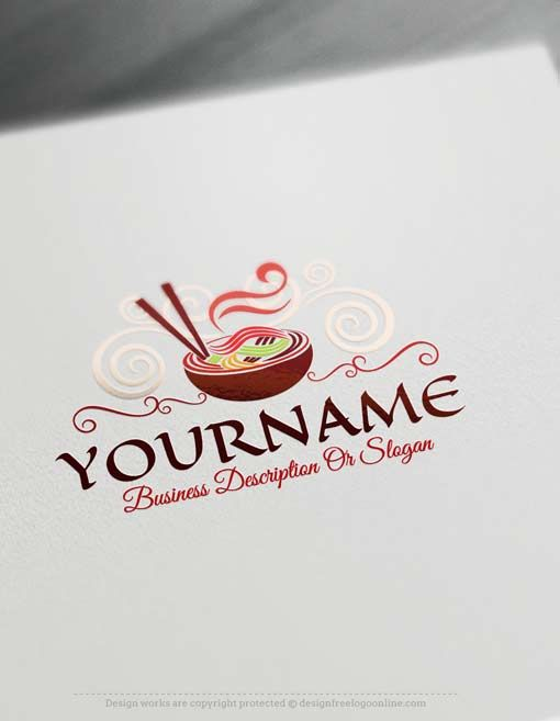 Free Food Logo Maker.