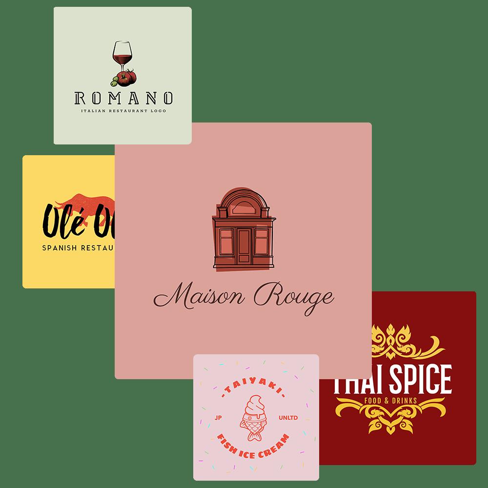 Make a Tasty Restaurant Logo in a Few Clicks.
