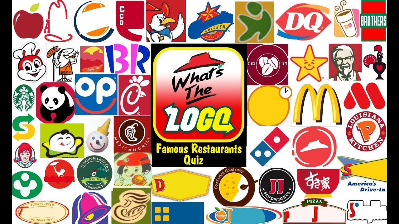 Restaurant Logo Quiz! Can you Name the Restaurant by the Logo?.