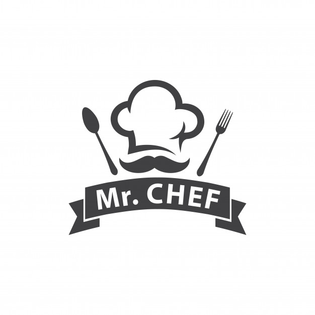 Chef or restaurant logo Vector.