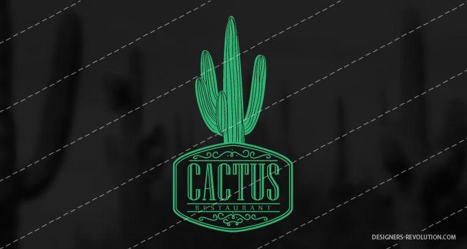 Cactus Restaurant Logo.