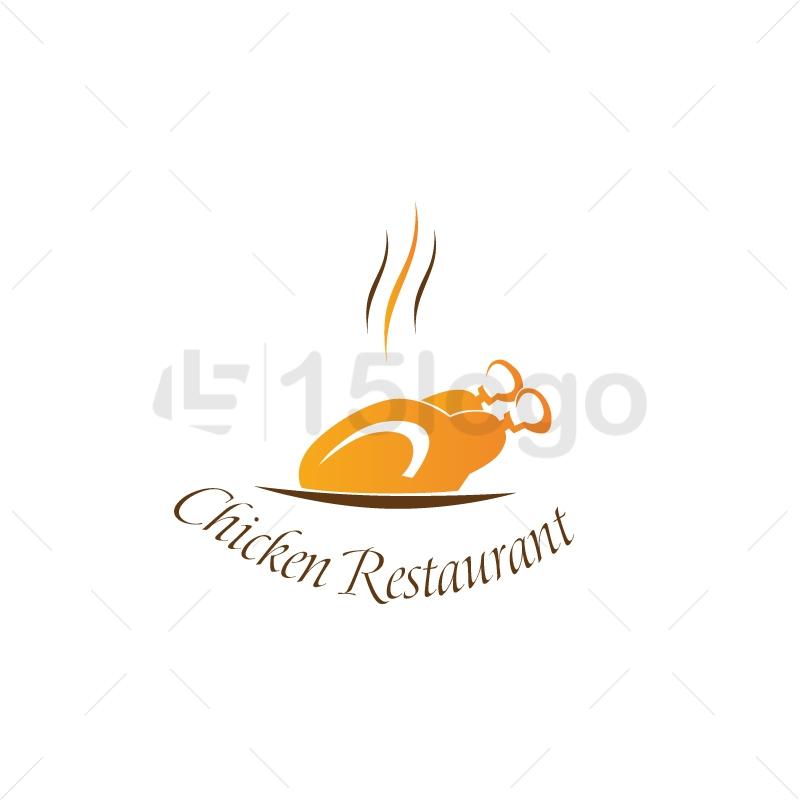 Chicken restaurant Logo Design.