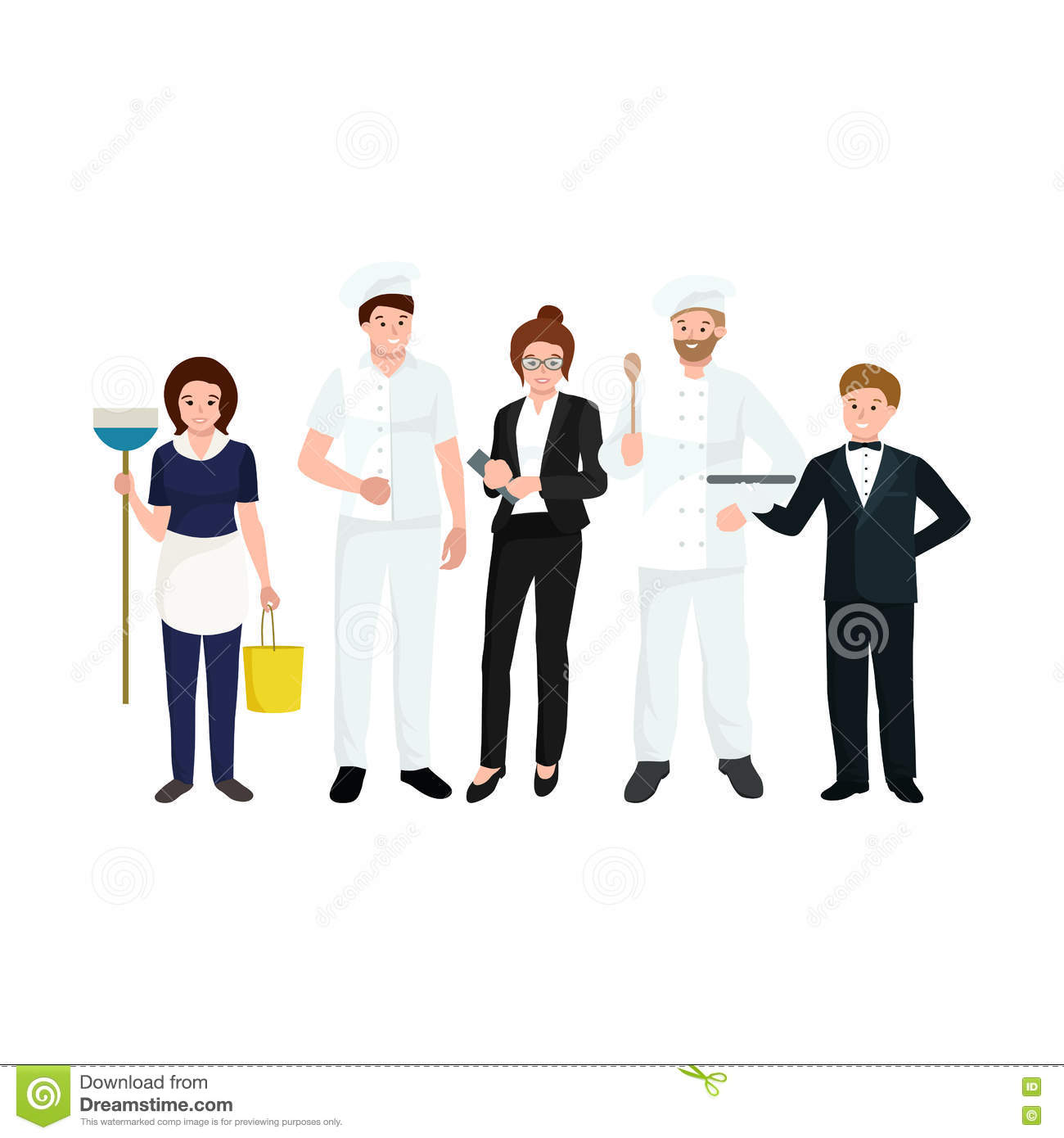 Restaurant manager clipart 5 » Clipart Station.