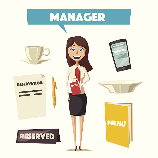 Restaurant manager clipart 2 » Clipart Station.