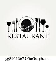 Restaurant Logo Clip Art.