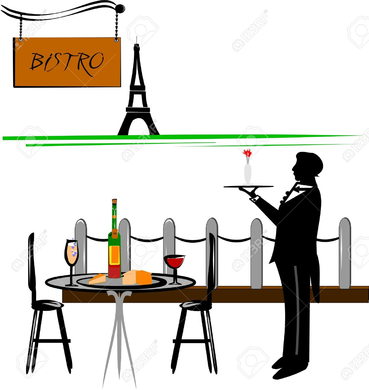restaurant table lamp clipart - Clipground