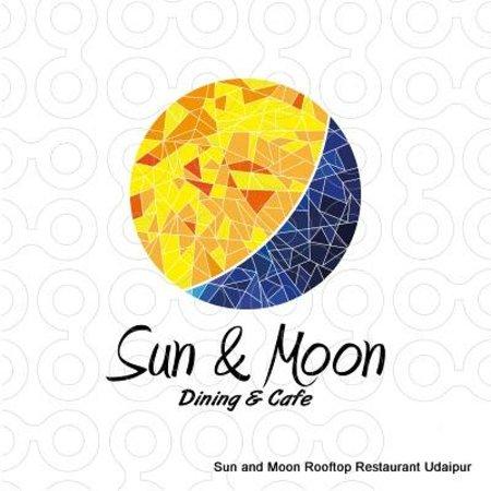 Sun and Moon Rooftop Restaurant Logo.