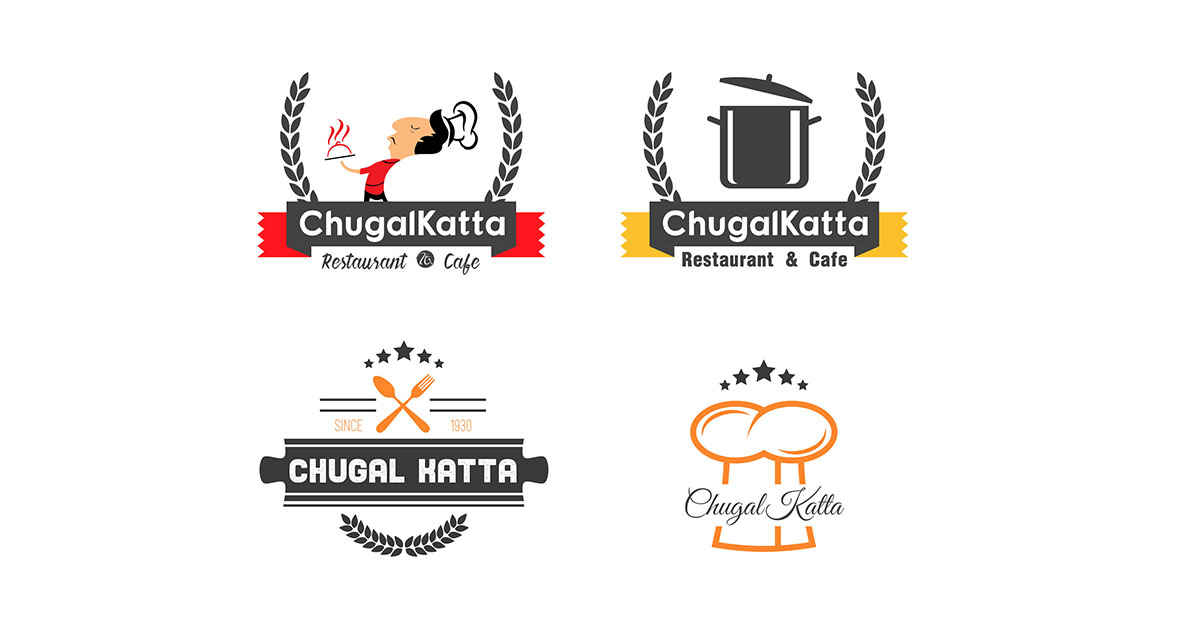 Free Restaurants Logo Design.
