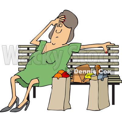 Resting Clipart by Dennis Cox.