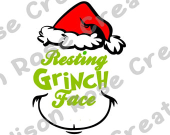 Grinch Face Vector at Vectorified.com.