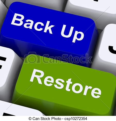 Backup restore Clipart and Stock Illustrations. 951 Backup restore.
