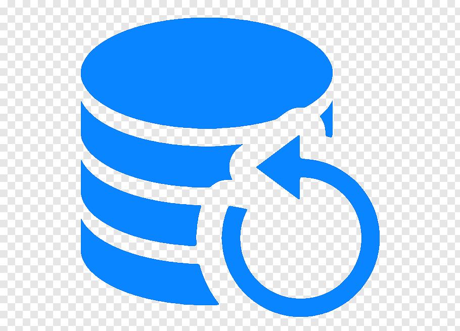 Database Logo, Backup, Backup And Restore, Computer Software.