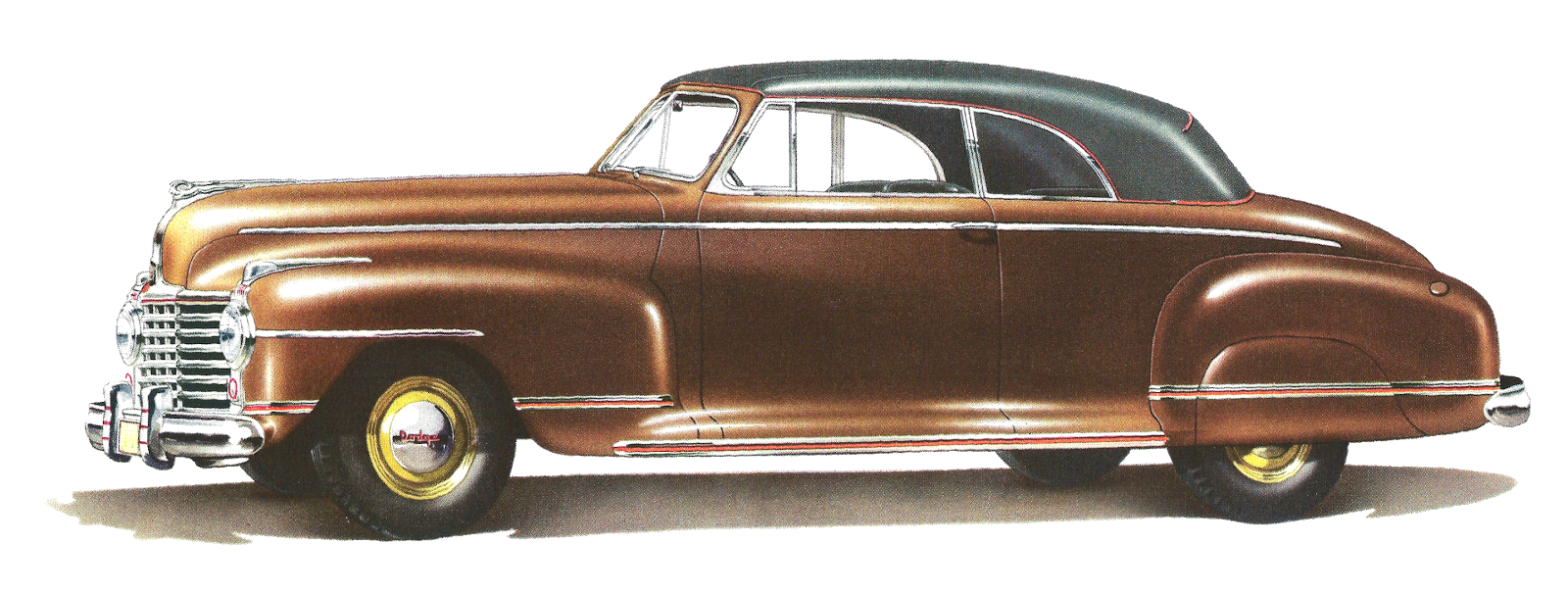 Oh, this is a gorgeous vintage car! This is digital clip art of a.
