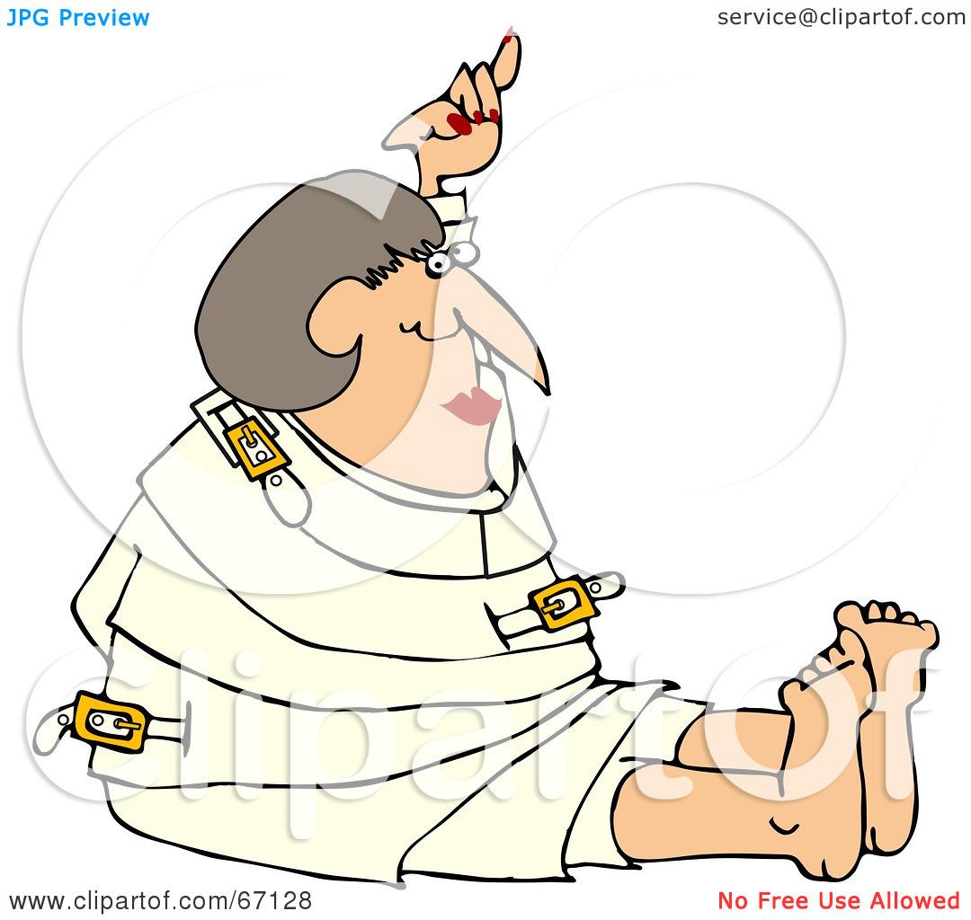 Nurse clipart no restraint.