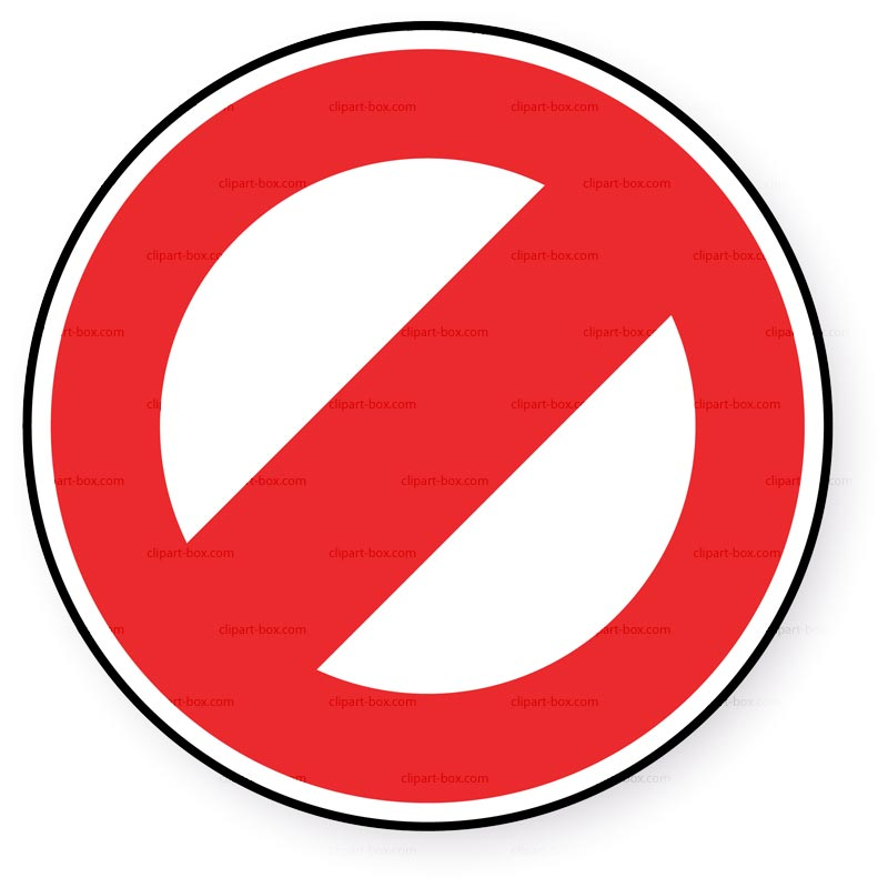 Restrict clipart.