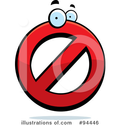 Restricted Clipart #94446.