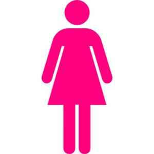Pink Women Restroom Sign ClipArt Best, pink women bathroom.