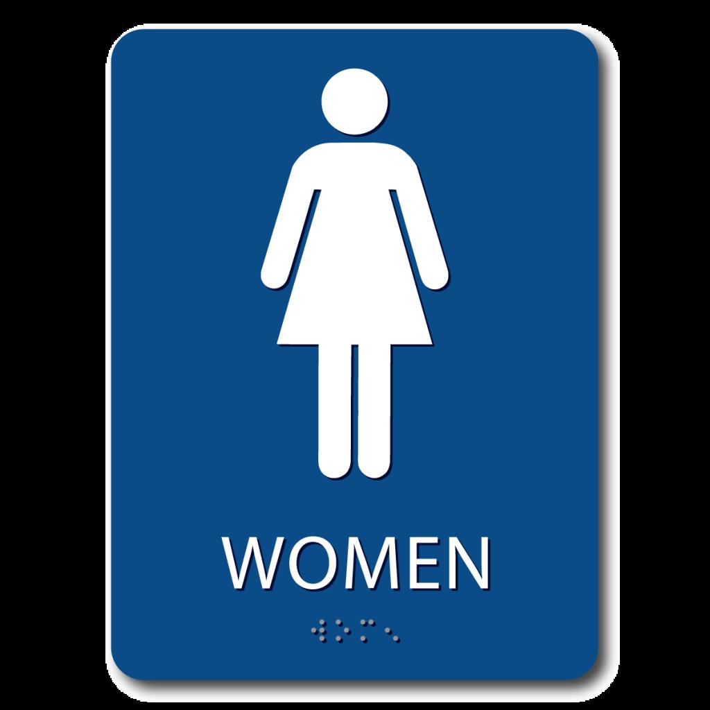 Women\'s Restroom Sign.