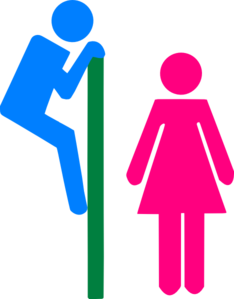 Restroom Signs PNG, SVG Clip art for Web.