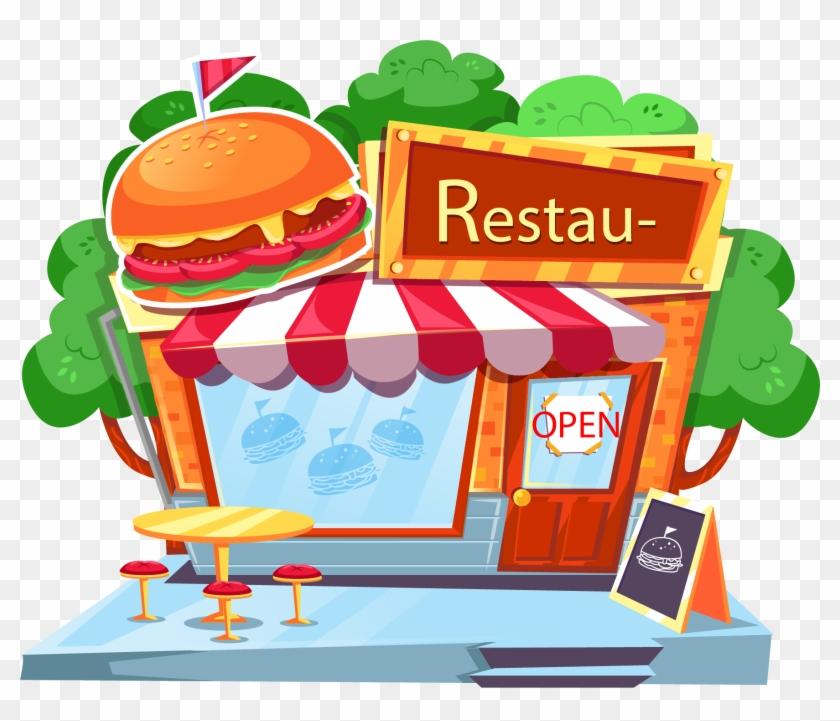 Hamburgers Clipart Burger Restaurant.