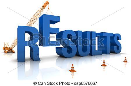 Results Clip Art.