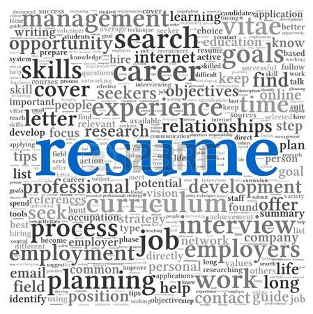 resume clipart clipground