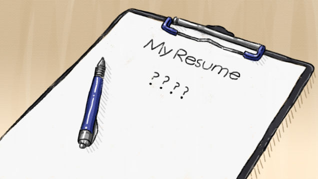 Resume Clipart Images.