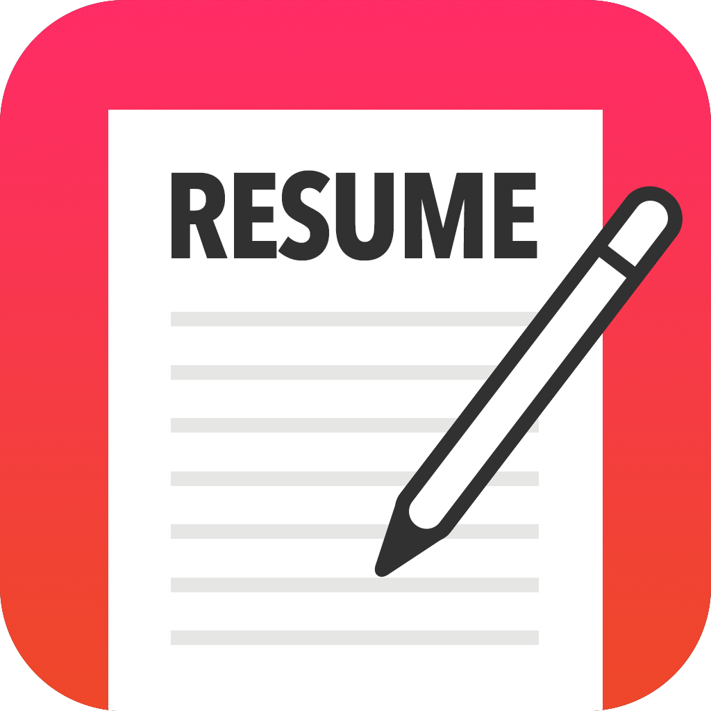 Download Free png Resume Clipart Icon.