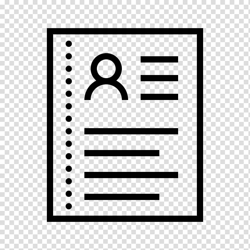 Résumé Computer Icons Curriculum vitae , Resume icon.