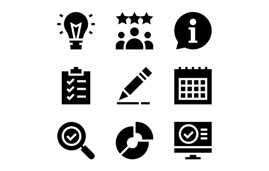 Job Resume Real Estate Icons Png.