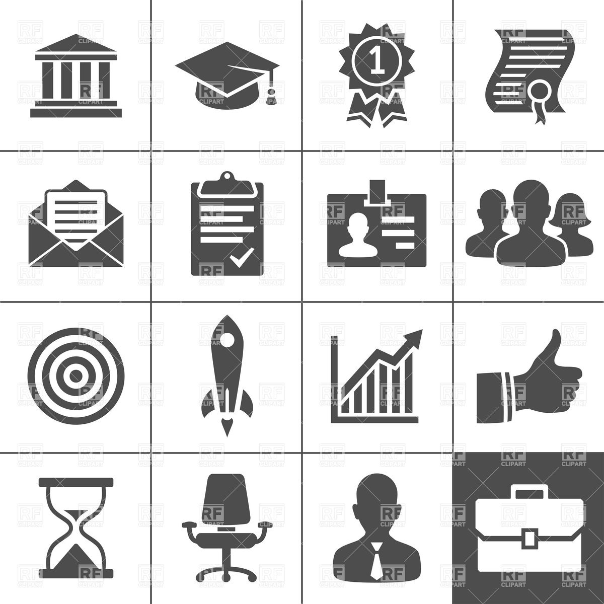 Free Resume Clipart.