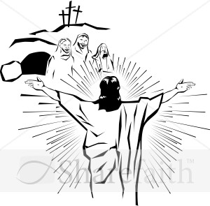 Resurrection cliparts.