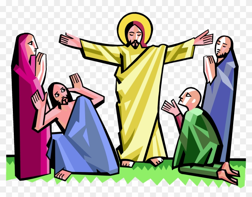 Resurrection Of Jesus Clip Art.