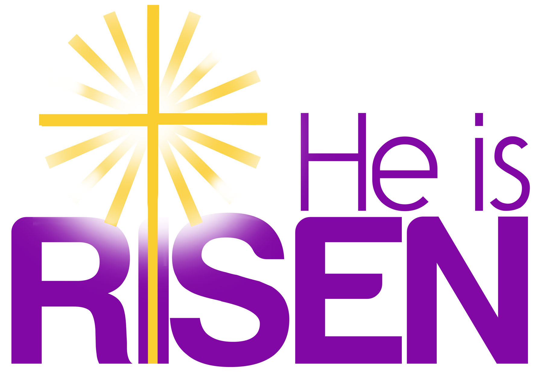 Easter resurrection clipart free.